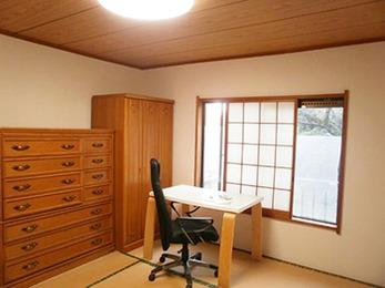 明るい和室になり安らげる空間となりました。満足です。