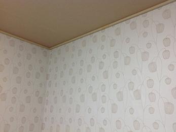 部屋ごとに悩んで選んだこだわりのクロスを、とても綺麗に貼っていただき嬉しいです。