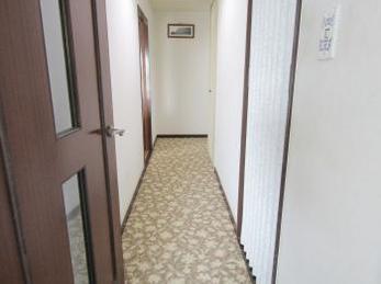 ホテルのような廊下がとても気に入りました